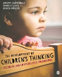 Cover The Development of Children's Thinking