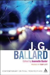 Cover J. G. Ballard