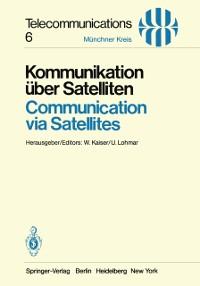 Cover Kommunikation uber Satelliten / Communication via Satellites