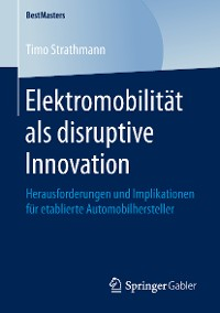 Cover Elektromobilität als disruptive Innovation