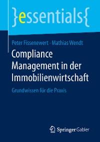 Cover Compliance Management in der Immobilienwirtschaft