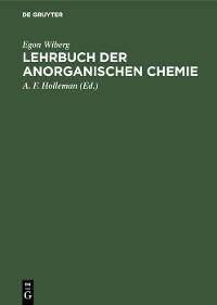 Cover Lehrbuch der anorganischen Chemie