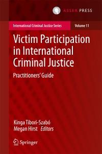 Cover Victim Participation in International Criminal Justice