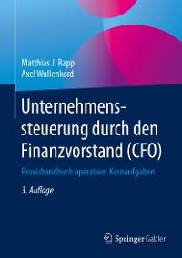 Cover Unternehmenssteuerung durch den Finanzvorstand (CFO)