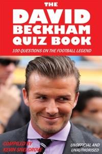 Cover David Beckham Quiz Book