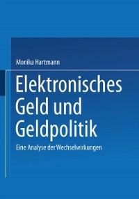 Cover Elektronisches Geld und Geldpolitik
