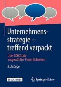 Cover Unternehmensstrategie – treffend verpackt