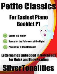 Cover Petite Classics for Easiest Piano Booklet P1