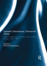Cover Domestic Disturbances, Patriarchal Values