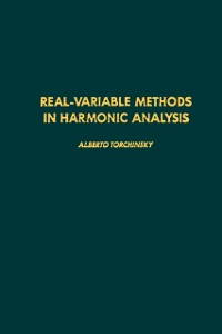 Cover Real-variable Methods in Harmonic Analysis
