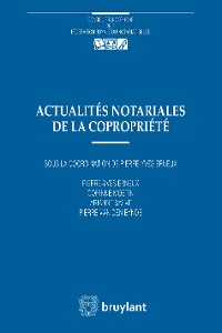 Cover Actualités notariales de la copropriété