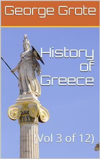 Cover History of Greece, Volume 03 (of 12)