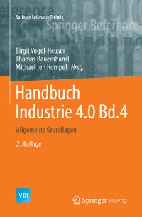 Cover Handbuch Industrie 4.0 Bd.4