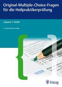 Cover Original-Multiple-Choice-Fragen für die Heilpraktikerprüfung