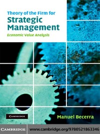 Cover Theory of the Firm for Strategic Management