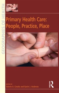 Cover Primary Health Care: People, Practice, Place