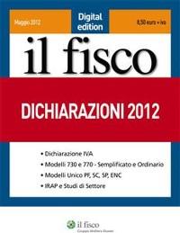 Cover Dichiarazioni 2012