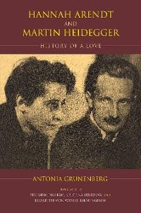Cover Hannah Arendt and Martin Heidegger