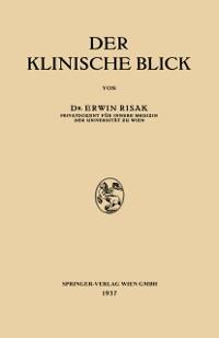 Cover Der klinische Blick