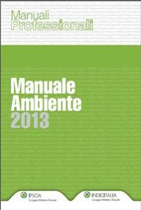 Cover Manuale Ambiente 2013