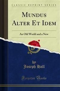 Cover Mundus Alter Et Idem