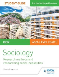 Cover OCR A Level Sociology Student Guide 2: Researching and understanding social inequalities