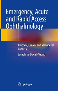 Cover Emergency, Acute and Rapid Access Ophthalmology