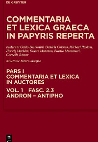 Cover Andron, Antimachus, Antiphon