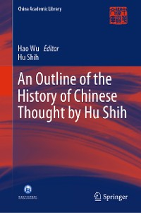 Cover An Outline of the History of Chinese Thought by Hu Shih