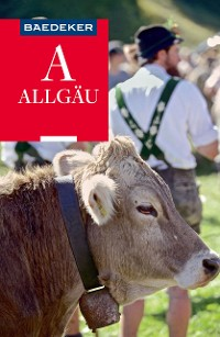 Cover Baedeker Reiseführer Allgäu