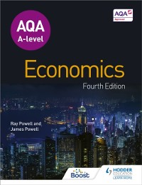 Cover AQA A-level Economics Fourth Edition