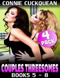 Cover Couples Threesomes 4-pack : Books 5 to 8