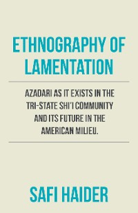 Cover Ethnography of Lamentation