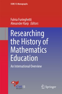 Cover Researching the History of Mathematics Education