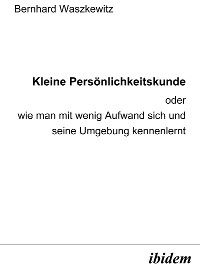 Cover Kleine Persönlichkeitskunde