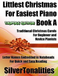 Cover Littlest Christmas for Easiest Piano  Book a Tadpole Edition