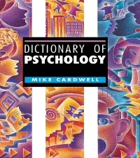 Cover Dictionary of Psychology