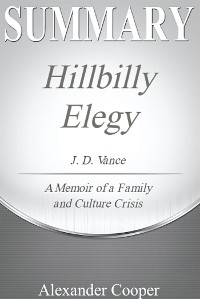 Cover Summary of Hillbilly Elegy