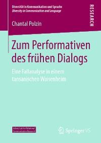 Cover Zum Performativen des frühen Dialogs