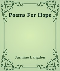 Cover Poems For Hope
