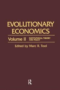 Cover Evolutionary Economics