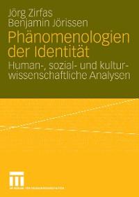 Cover Phänomenologien der Identität