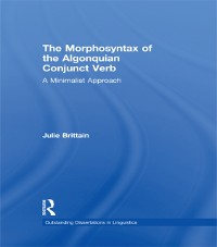 Cover Morphosyntax of the Algonquian Conjunct Verb