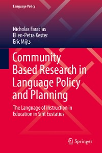 Cover Community Based Research in Language Policy and Planning