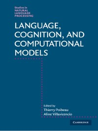 Cover Language, Cognition, and Computational Models