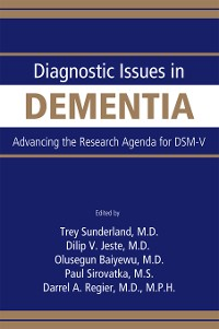 Cover Diagnostic Issues in Dementia