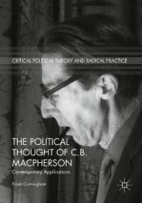 Cover The Political Thought of C.B. Macpherson