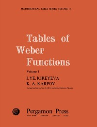 Cover Tables of Weber Functions
