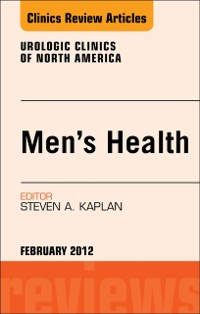 Cover Men's Health, An Issue of Urologic Clinics - E-Book
