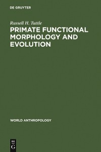 Cover Primate Functional Morphology and Evolution